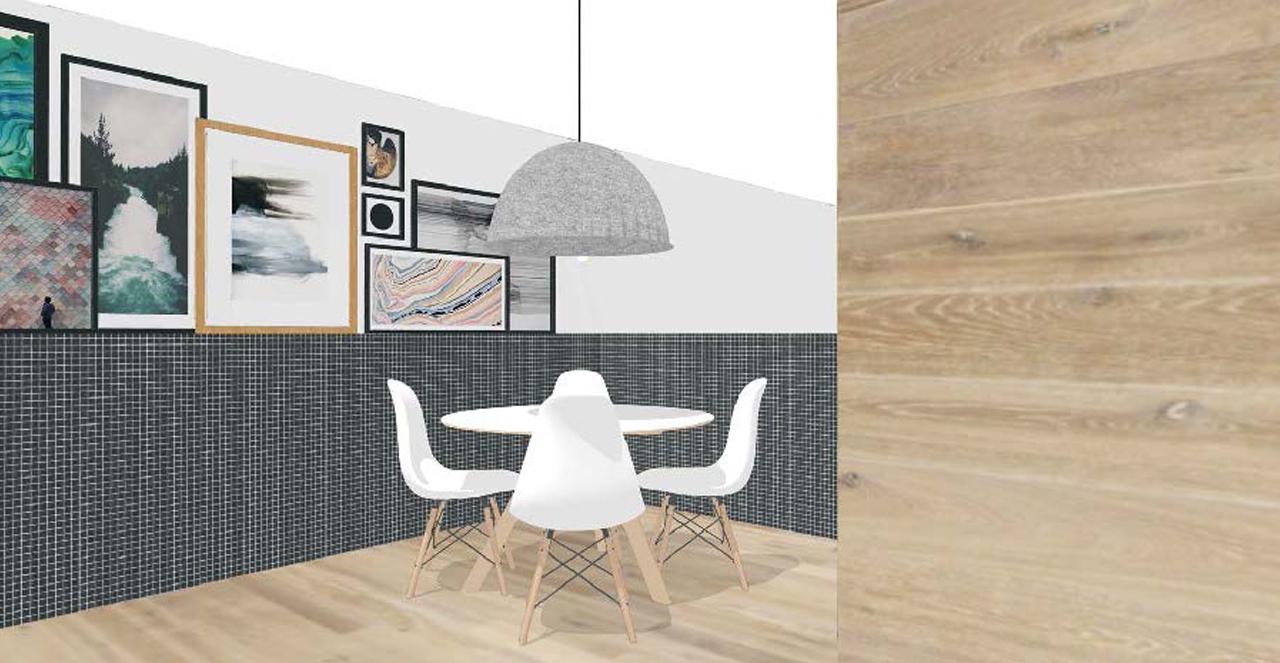 Ontwerp eetkamer indeling for Interieur ontwerpen